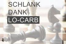 LO-CARB / Du möchtest trotz Bürojob und langem Sitzen in Meetings, Konferenzen, Vorträgen  und Besprechungen beruflich erfolgreich sein und dennoch schlank bleiben? Hier gibt`s tolle Lo-carb-Rezepte