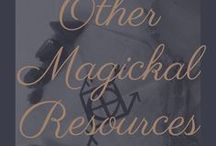 Other Magickal Resources / because outside perspective is vital to avoiding dogma!