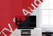 TV & Audio / Die besten Lautsprecher, Heimkinosysteme und Fernseher für ein schönes Zuhause. Dank der kabellosen Kopfhörer auch unterwegs Ihre liebste Musik hören.