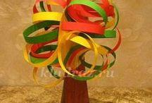 Enfants - Origami - Papiers - Collage / Activités Enfants Bricolage Papiers Feuilles Collage DIY - Origami - Pliages - autour du papier