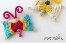 Enfants - Laine / Activités Enfants - Bricolage fait maison DIY autour de la laine