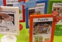 Enfants - Organisation de Classe / Idées pour l'organisation d'une classe
