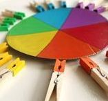 Enfants - Couleurs / Activités Enfants ateliers pour apprentissage des Couleurs