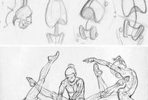 body/pose/reference / body and pose drawing reference