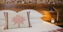 """Rm 2: Standard QUEEN / Room 2 at the Grove Hotel will have you singing """"Oh Canada!""""  This boutique hotel has 18 individually themed rooms that are seriously sweet-designed specifically to make you not want to go home EVER again!  Come visit us soon!"""