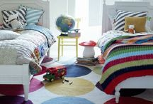 Shared boys bedroom / Collecting inspiration to make the perfect shared room for my middle two boys.  / by Stay at Home Territory