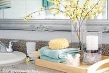 Ensuite Bathroom / Collecting inspiration for renovating and styling our ensuite bathroom... / by Stay at Home Territory