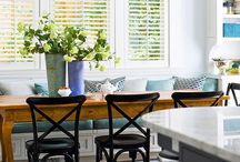 Dining Room / Collecting inspiration for styling our dining area and mantle-like buffet table... / by Stay at Home Territory