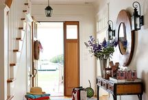 Entry/Hall / Collecting ideas for the perfect entry that's both stylish and functional... / by Stay at Home Territory