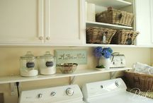 Laundry Room / Collecting inspiration for a stylish and functional laundry room... / by Stay at Home Territory