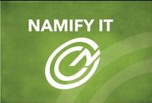 Namify / Namify focuses on providing flexible, competitive branding solutions to businesses and consumers all over the world. We are deeply rooted in manufacturing and possess the experience and drive to offer our clients the fastest available production times and most extensive satisfactions guarantees. / by Namify