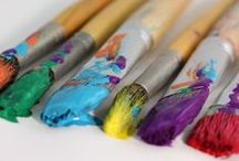 Art Room Tips and Tricks / Simple tips and tricks for making, creating, and displaying kids art work a little easier and cheaper.  You will also find brilliant inspiration for storing craft supplies.