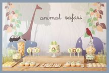 Safari Party Inspiration / Collecting inspiration for Rohan's second birthday... / by Stay at Home Territory