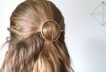 Barrettes  pour les cheveux - Hair Clips