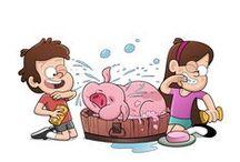Gravity Falls / by Obie Harlander