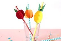 Drinking straws - pailles