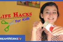 Life Hacks for Kids / Sunny's got her own show!  Fun videos with fun kid friendly life hacks that kids can do on their own.