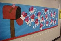 Classroom Bulletin Boards / Fun and easy DIY bulletin boards and door decorations for your classroom. You will all so find time saving tips and ideas to help create beautiful bulletin boards!