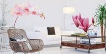 Wall stickers / Bright ideas for how to design your living room, bedroom or kitchen with wall stickers.