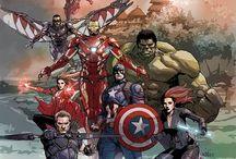 Comics Marvel/DC