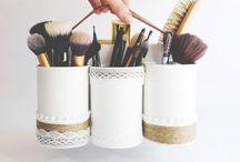 Makeup organisation / Le makeup c'est ma vie alors voilà comment ne pas être vite bordélique...