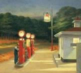 Hopper, De Chirico and others metaphysicians / Metaphysical places