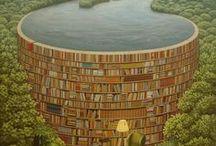 Books / i libri sono una diga contrapposta al fiume del nonsenso, ma sono anche quello stesso fiume che pretenderebbero di arginare
