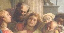 """Tiepolo, """"L'ultima Cena"""" / Iniziato nel 1586, su progetto del bresciano  Giulio Todeschini, e consacrato nel 1611, il Duomo di Desenzano è uno degli esempi più belli del tardo rinascimento bresciano. Nella cappella del SS. Sacramento, possiamo ammirare """"L'ultima cena"""" opera di Giambattista Tiepolo. E' un'opera di grande interesse perché i dodici apostoli sono colti secondo una linea prospettica longitudinale e non frontale, così che gli apostoli appaiono raccolti in stretta intimità intorno a Gesù."""