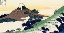 36 views of Fuji / Bacheca pubblicata in memoria del grande maestro, in occasione dell'uscita nelle sale del documentario: HOKUSAI DAL BRITISH MUSEUM, 25-26-27 SETTEMBRE 2017