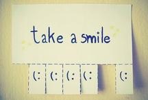 Smiles :) / by Khalina