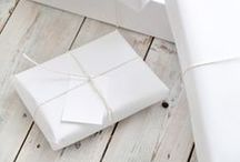Occasions - gift wrapping / by Maja