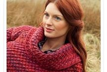 CARDIGANS, PULLOVERS: knitting, crocheting