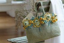 BAGS: knitting, crocheting, felting