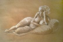 Figure Drawing  / by Lindsey .
