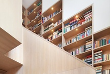 Stairs and Doors and Bookshelves