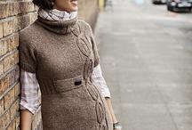 DRESSES: crocheting & knitting