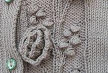 KNITTING: motifs and stitches