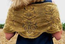 SHAWLS: knitting and crocheting