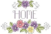 Cross stitch lover (flowers & borders)
