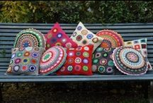 PILLOWS and CUSHIONS: knit & crochet