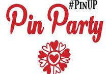 #PinUP Pin Party! / Join us every Friday on Pin-n-tell.com for a NEW Party! Our Pin Parties are themed. We welcome you to #PinUP your posts and pins and have fun with us :) We'll be pinning our favorites! And, if you don't have a pin or a post fitting a particular week's theme, no worries.. come and gain some inspiration! Find out up and coming themes on our side bar with Google+ Events. Looking forward to your submissions and comments!