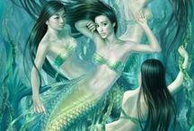 Mermaids / Goddess of the seas #mermaids #mermaid
