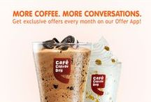 Offers just for you! / Get exciting offers from Cafe Coffee Day.