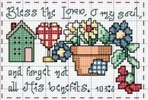 Cross stitch lover (country things)