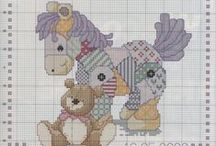 Cross stitch lover (baby and kids)