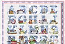 Cross stitch lover (alphabets)