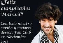 ¡Feliz cumpleaños, Manuel! / Recopilación de fotos de tus fans, junto con mensajes de felicitación por tu cumple y lo mejores deseos con tu nuevo disco. ¡No olvides nunca de ser feliz! Con cariño, de tus fans.