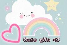 Cute gifs <3 / the cutest gifs on the world >.<