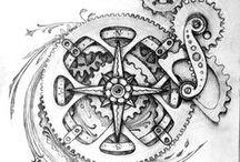 Arts découverte: Boussole / Arts découverte: Boussole, La découverte de talents en Arts dans le domaine des ouvres présentent des Boussole et aussi des mécanismes.