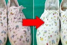 arreglar la ropa y los zapatos